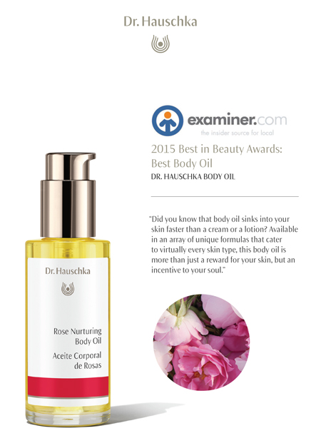 2015 Best in Beauty Awards: Best Body Oil