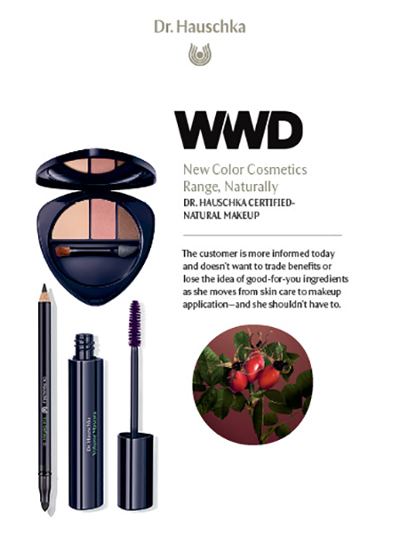 New Color Cosmetics Range, Naturally