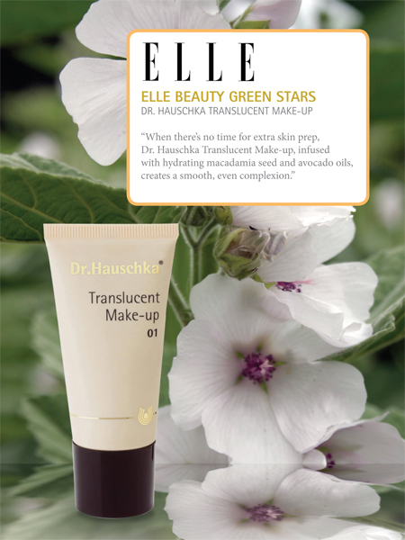 Elle Beauty Green Stars: Translucent Make-up
