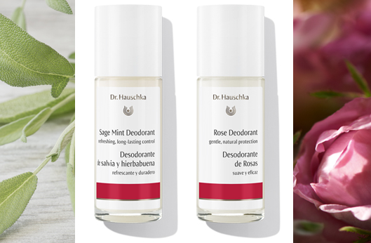 New! 2 Longer-lasting, Aluminum-free Deodorants