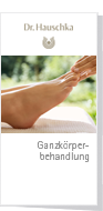 Dr.Hauschka Holistic Body Treatment