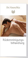 Dr.Hauschka Back Cleansing Treatment