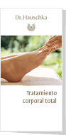 Tratamiento corporal total Dr. Hauschka