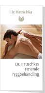 Dr. Hauschka Back Cleansing Treatment