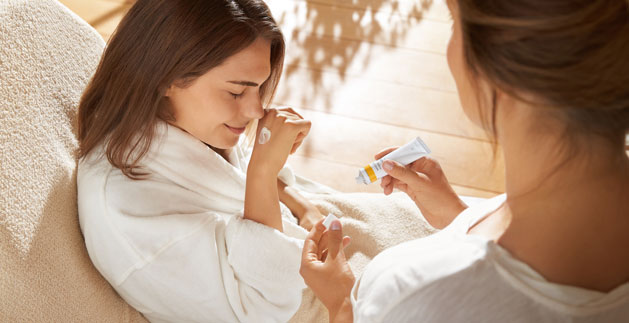Questions about Dr. Hauschka skin care treatments