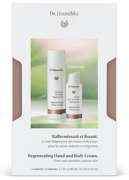 regenerating skin care set dr hauschka cosmetics nature 39 s treasures transformed for you. Black Bedroom Furniture Sets. Home Design Ideas
