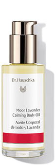 Moor Lavender Calming Body Oil - Our ingredients - Dr. Hauschka